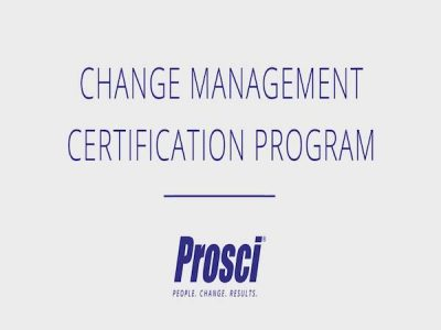 變革管理從業人員認證課程