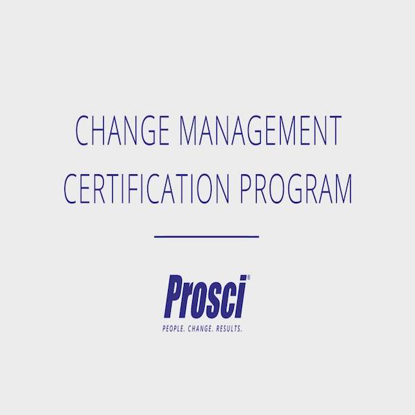 Change Management Certification Program(English)