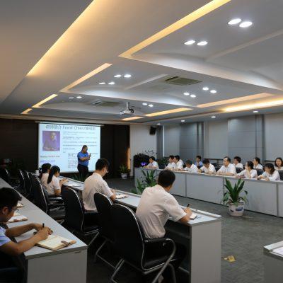 资深项目与变革管理讲师简明宏先生在常熟中利集团开展变革管理研讨会,获得热烈反响